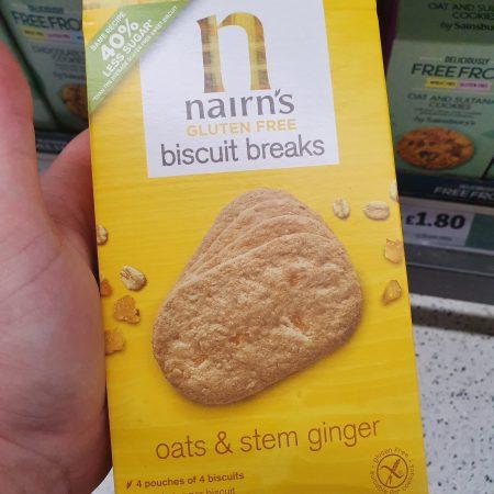 Nairn's Oat & Ginger Biscuit Breaks160g
