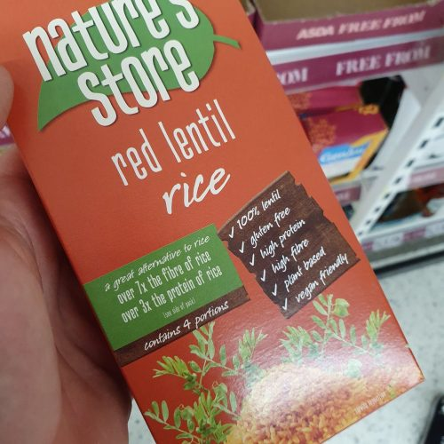 Nature's Store Red Lentil Rice