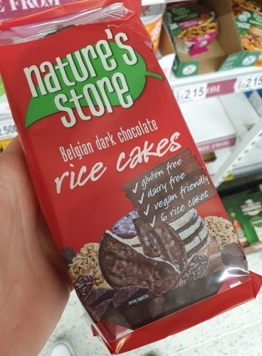 Nature's Store Store Dark Chocolate Rice Cakes