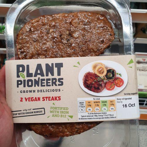 Plant Pioneers 2 Vegan Steaks 226g