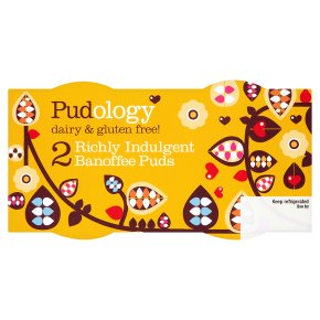 Pudology 2 banoffee puds 2x90g
