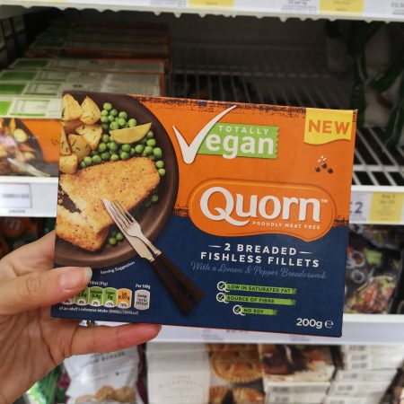 Quorn Fishless Fillets Lemon And Pepper 200G