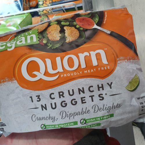 Quorn Totally Vegan Crunchy Tex-Mex Nuggets 200g