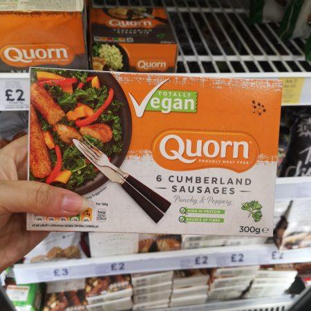 Quorn Vegan 6 Cumberland Sausages 300G