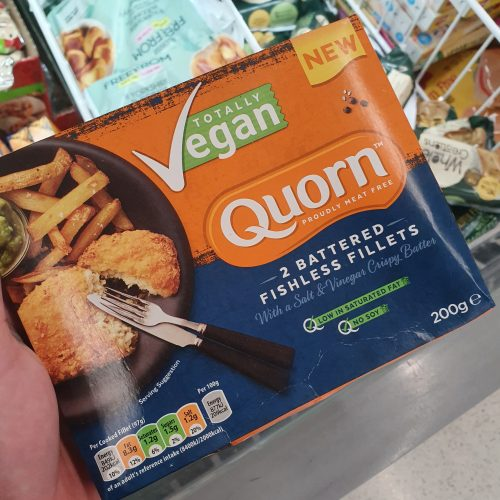 Quorn Vegan Battered Fishless Fillets 200g