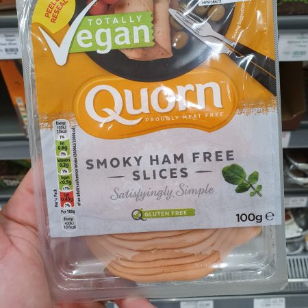Quorn Vegan Smoky Ham Free Slices 100g