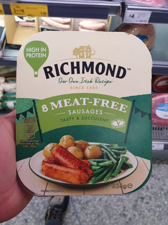 Richmond Meat Free Sausages 336g