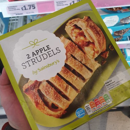 Sainsbury's Apple Strudel x2 600g