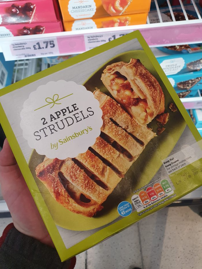 Sainsbury's Apple Strudel x2 600g