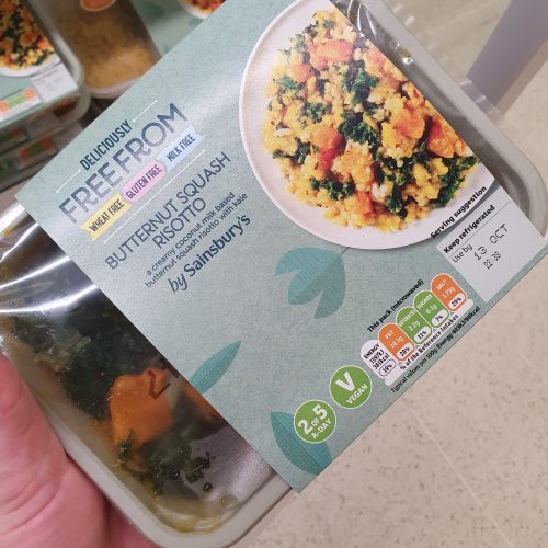 Sainsbury's Deliciously Free From Butternut Squash Risotto 400g