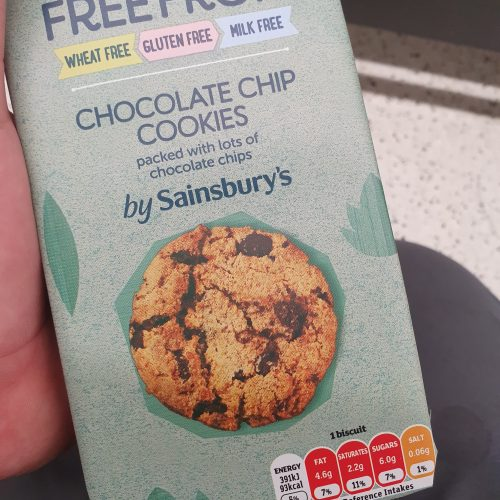 Sainsbury's Deliciously Free From Chocolate Chip Cookies 150g