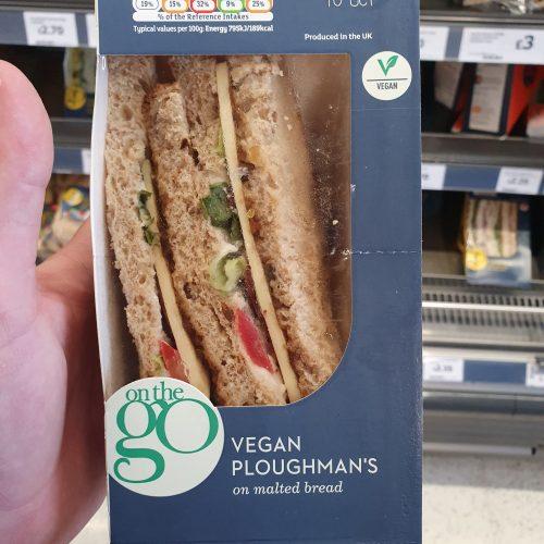 Sainsbury's Red Leicester Ploughmans Sandwich