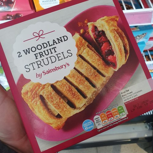 Sainsbury's Woodland Fruit Strudel