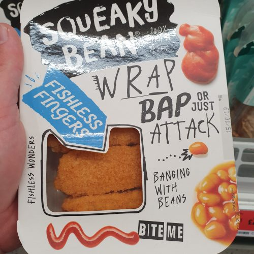 Squeaky Bean Fishless Fingers 216g