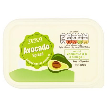 Tesco Avocado Spread 250G