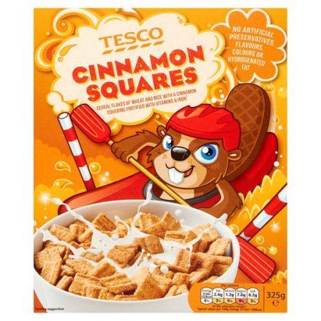 Tesco Cinnamon Squares 325G