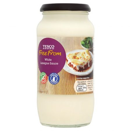 Tesco Free From White Lasagne Sauce 480G