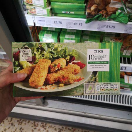 Tesco 10 Vegetable Fingers 282G
