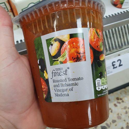 Tesco Finest Tomato & Balsamic Soup 600G