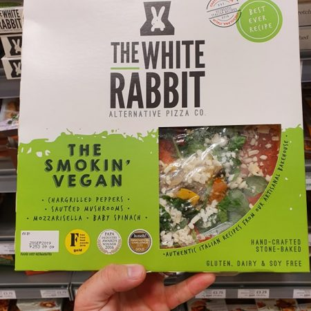 The White Rabbit Pizza Co. The Smokin' Vegan