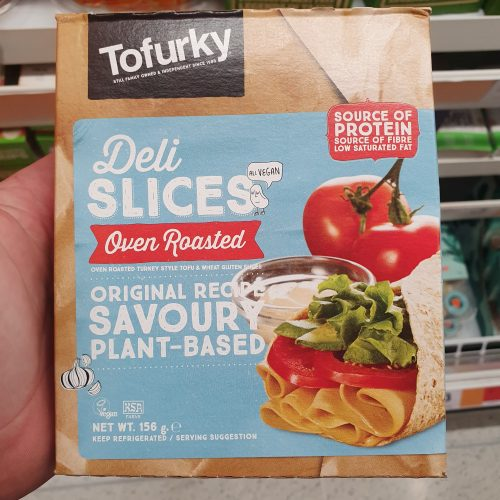 Tofurky Deli Oven Roasted Turkey Style Slices (156g)