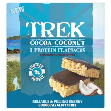 Trek Flapjack Cocoa Coconut 50G 3Pack