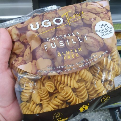 Ugo Thrive Chickpea Fusilli Free From 300g