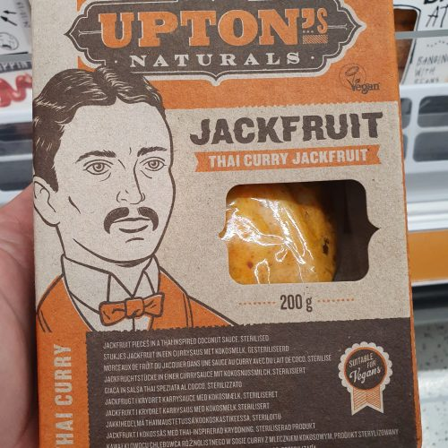 Upton's Naturals Jackfruit – Thai Curry – 200g
