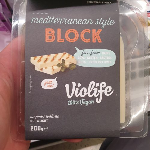 Violife Mediterranean Style Block Non-Dairy Cheese Alternative 200g