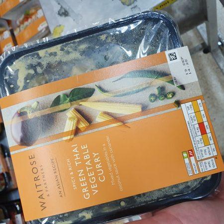 Waitrose Asian Green Thai Vegetable Curry 350g