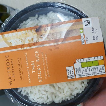 Waitrose Asian Thai Sticky Rice350g