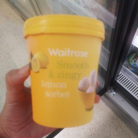 Waitrose Lemon Sorbet