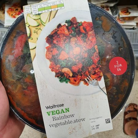 Waitrose Veg Rainbow Vegetable Stew