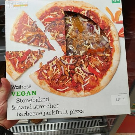Waitrose Vegan BBQ Jackfruit Pizza
