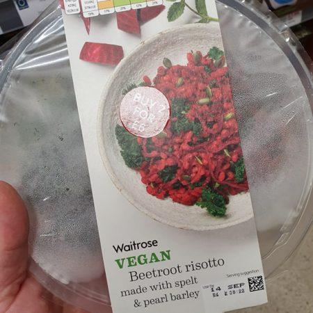 Waitrose Vegan Beetroot Risotto380g