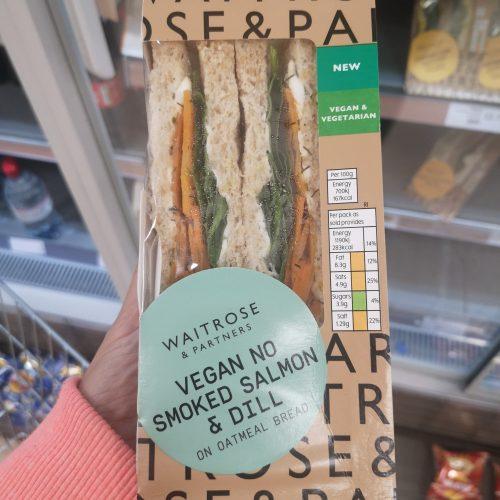 Waitrose Vegan no Smoked Salmon & Dill