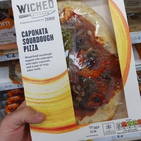Wicked Kitchen Caponata Pizza 302G