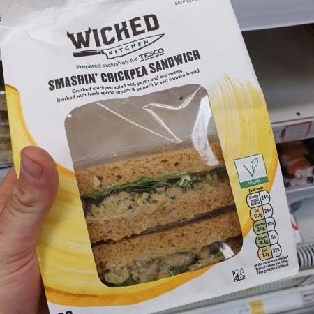 Wicked Kitchen Smashin Chickpea Sandwich