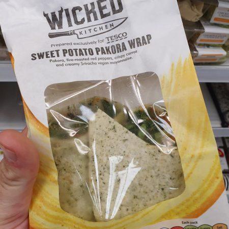 Wicked Kitchen Sweet Potato Pakora Wrap