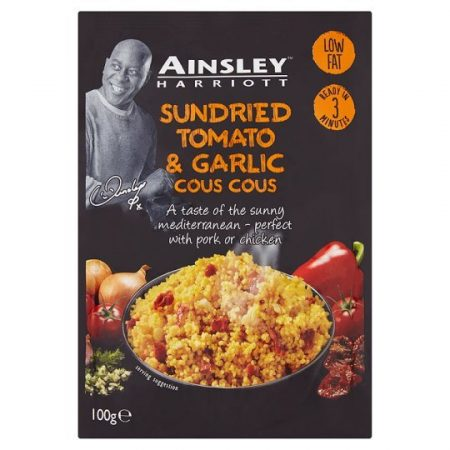 A/Harriott Sun Dried Tomato And Garlic Cous Cous 100g