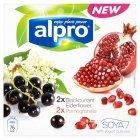 Alpro Yogurt Alternative Blackberry, Elderflower & Pomegranate 4x125g