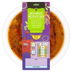 ASDA Bombay Potatoes Side for 2