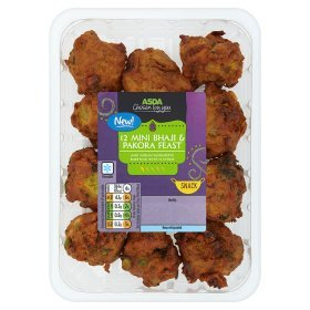 ASDA Chosen by You 12 Mini Bhaji & Pakora Feast
