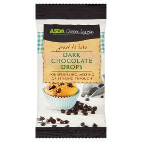 ASDA Chosen By You Dark Chocolate Drops