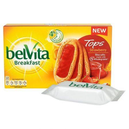 Belvita Tops Strawberry Jam 250g