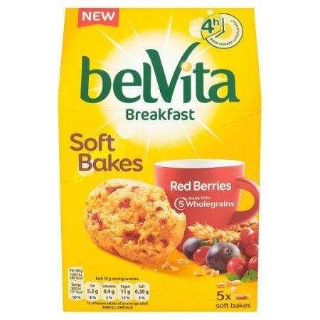 Belvita Soft Bakes Red Berries 250g