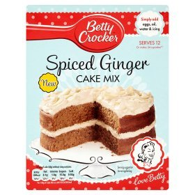 Betty Crocker Spiced Ginger Cake Mix