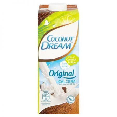 Coconut Dream Non Dairy Rice Drink Original Plus Calcium