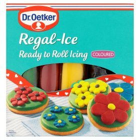 Dr Oetker Regal-Ice Ready to Roll Icing Coloured