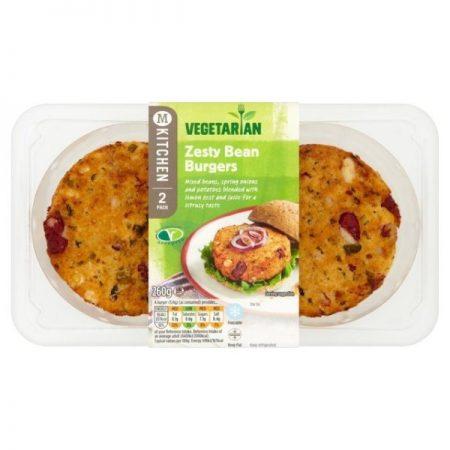 M Kitchen Vegetarian Naked Bean Burger 260g